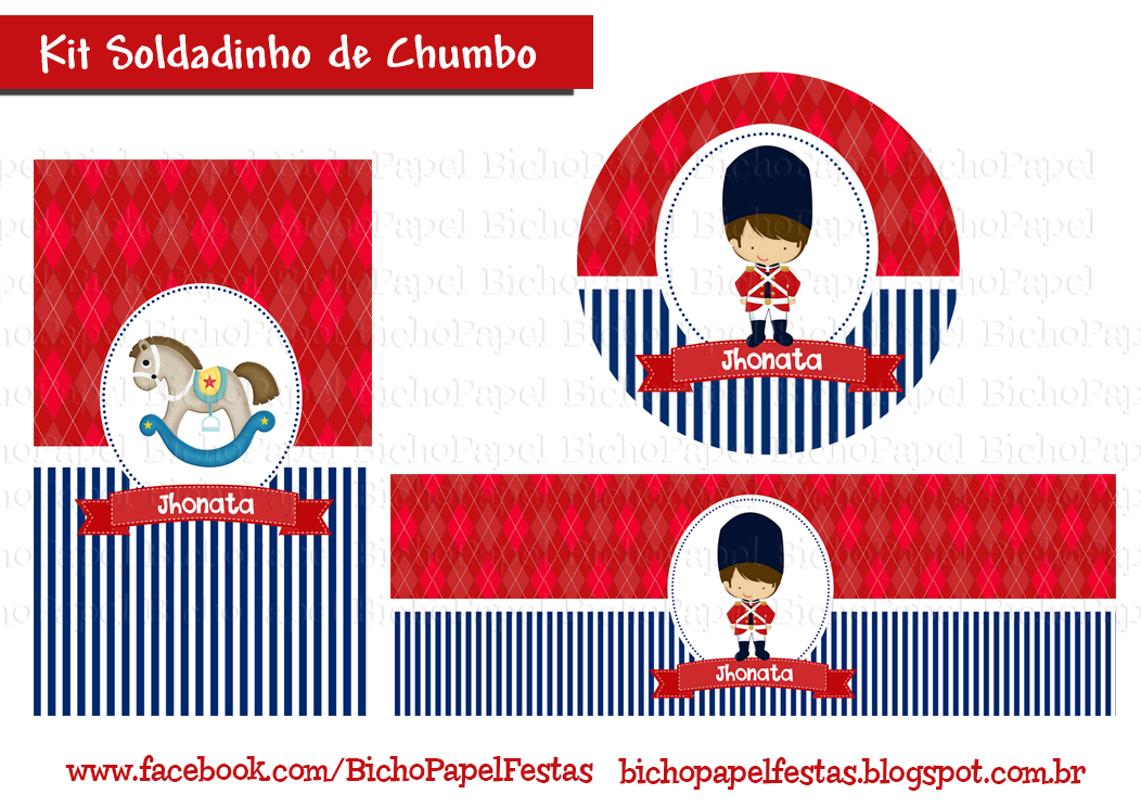 Kit Soldadinho de Chumbo