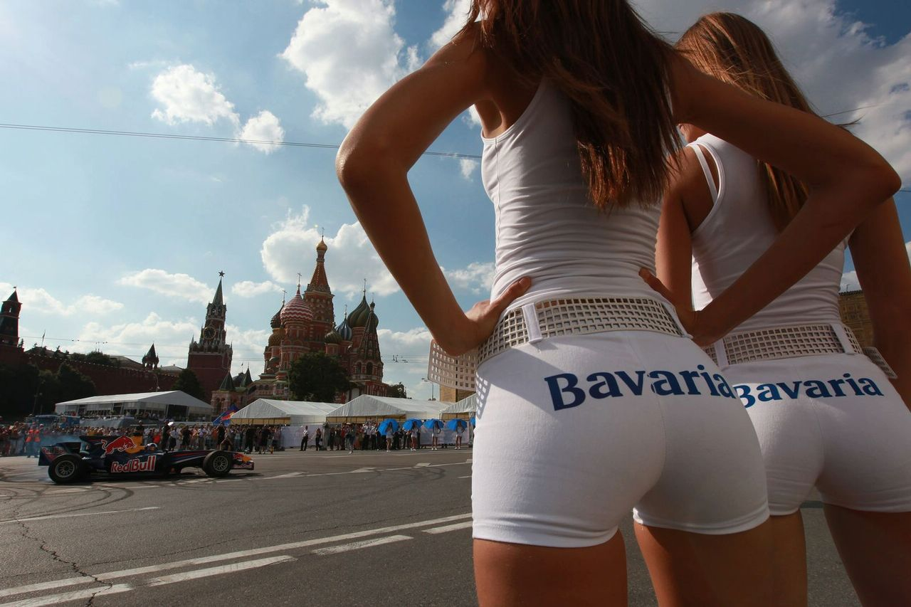 Grid Girls Bavaria Moscow City Racing Event Autooonline Magazine