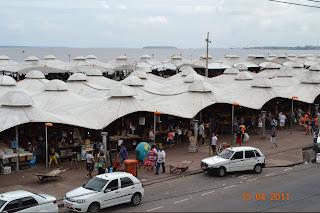 barracas padronizadas - mercado do ver o peso Belem