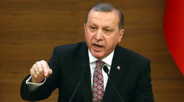 Ερντογάν: Η Τουρκία δεν θα παραμείνει άπραγη με όσα συμβαίνουν στη Συρία