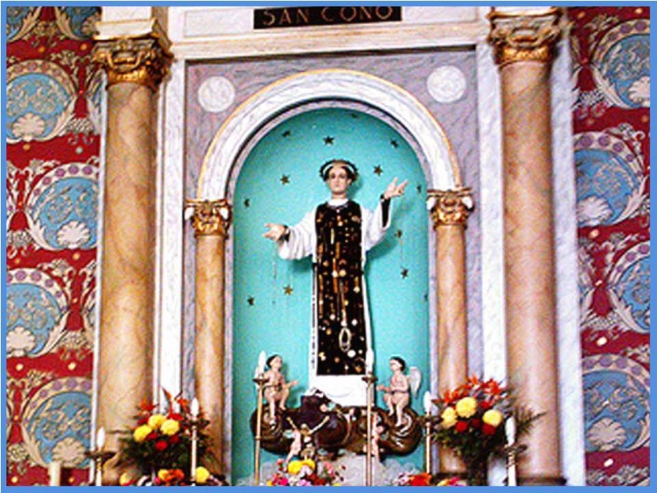 Oraciones milagrosas y poderosas oracion a san cono para - Para tener buena suerte ...