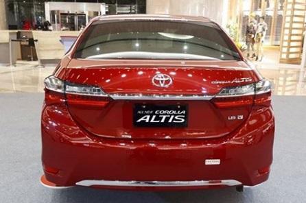 Design Toyota Altis