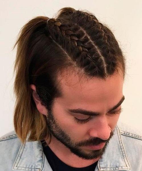 Sólo porque no tiene el pelo largo no significa que tienes que renunciar a tus sueños trenzados. Afortunadamente, con un poco estilo pomada usted puede