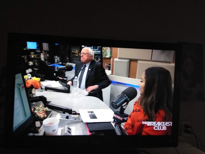 Bernie Sanders on the Breakfast Club is THE Biggest Thing to Happen in Art