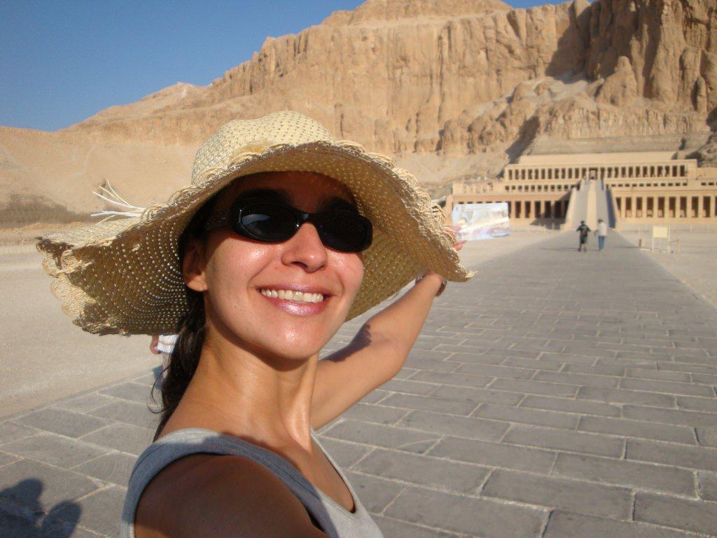 Deir El Bahari, da Rainha Hatshepsut