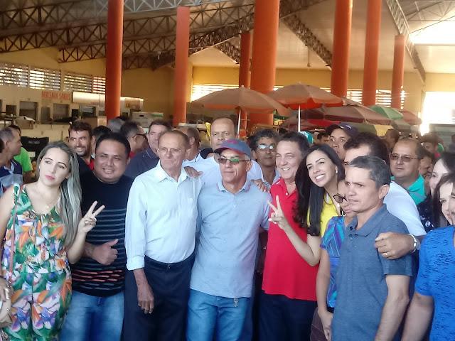 Lideranças políticas de Barra do Corda abraçam a pré candidatura para deputada estadual de Daniella Tema.