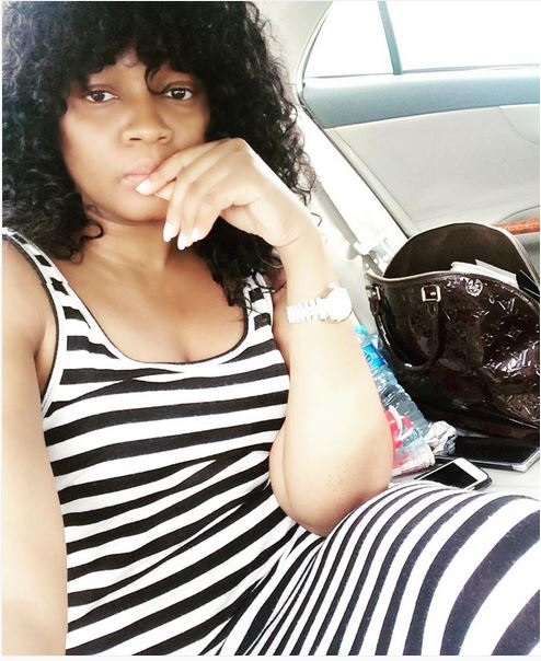 See Omotola Jalade-Ekeinde's Real Look without Make-up (Photo)