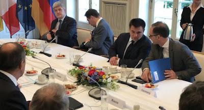 """У Берліні глави МЗС """"нормандської четвірки"""" обговорили врегулювання на Донбасі"""