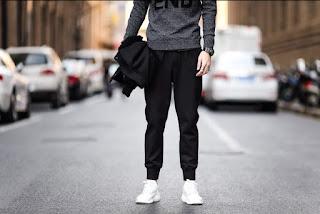 Jogger Pants Pria Korea Terbaru Juni 2016
