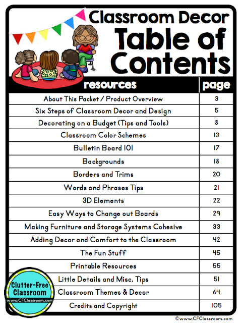 Download this FREE resource that will help you be ready for back to school! It's packed with tips, ideas, and printables to help you get started with planning your classroom decor. #classroomdecor #elementaryteacher #classroomtheme