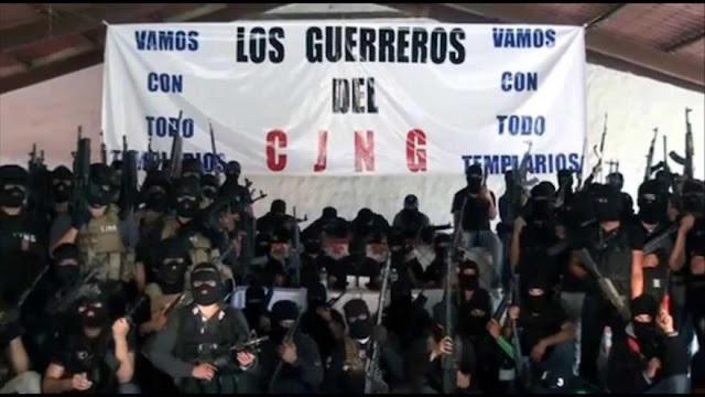 Así es la mancha expansiva del CJNG en México