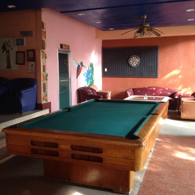 billiards and darts at Alta Cebu Resort