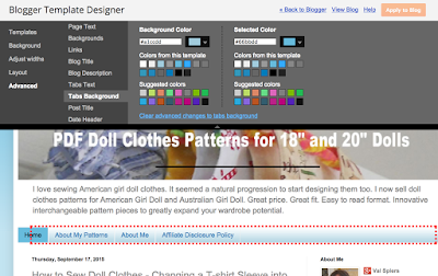 valspierssews doll clothes blog improvements