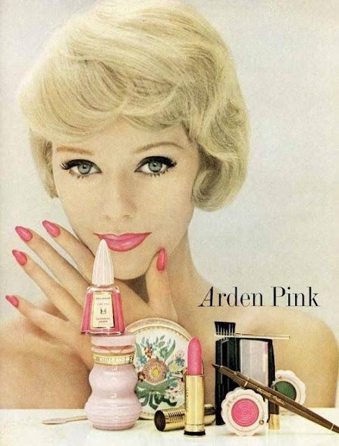 Anúncio de maquiagem da Elizabeth Arden