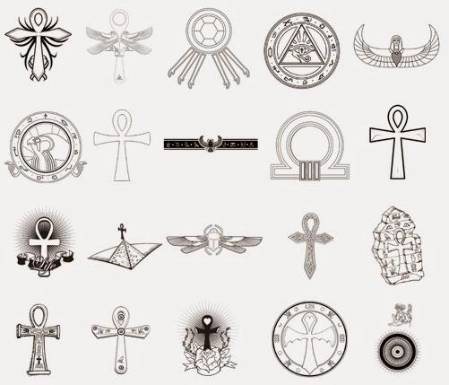 Pharaoh Egypt Tattoo Design