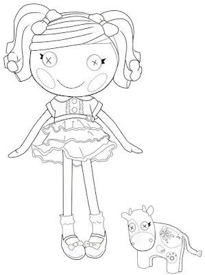 muñeca lalaloopsy con vaca