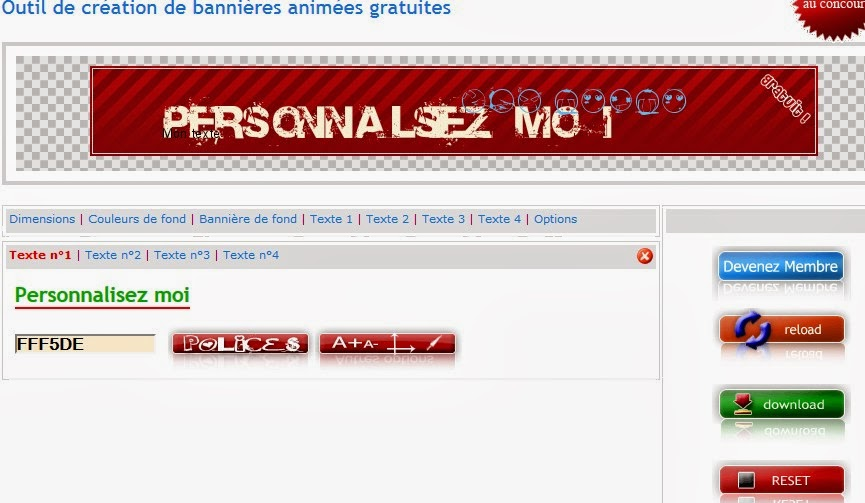 banni u00e8re gratuite pour site web hh97