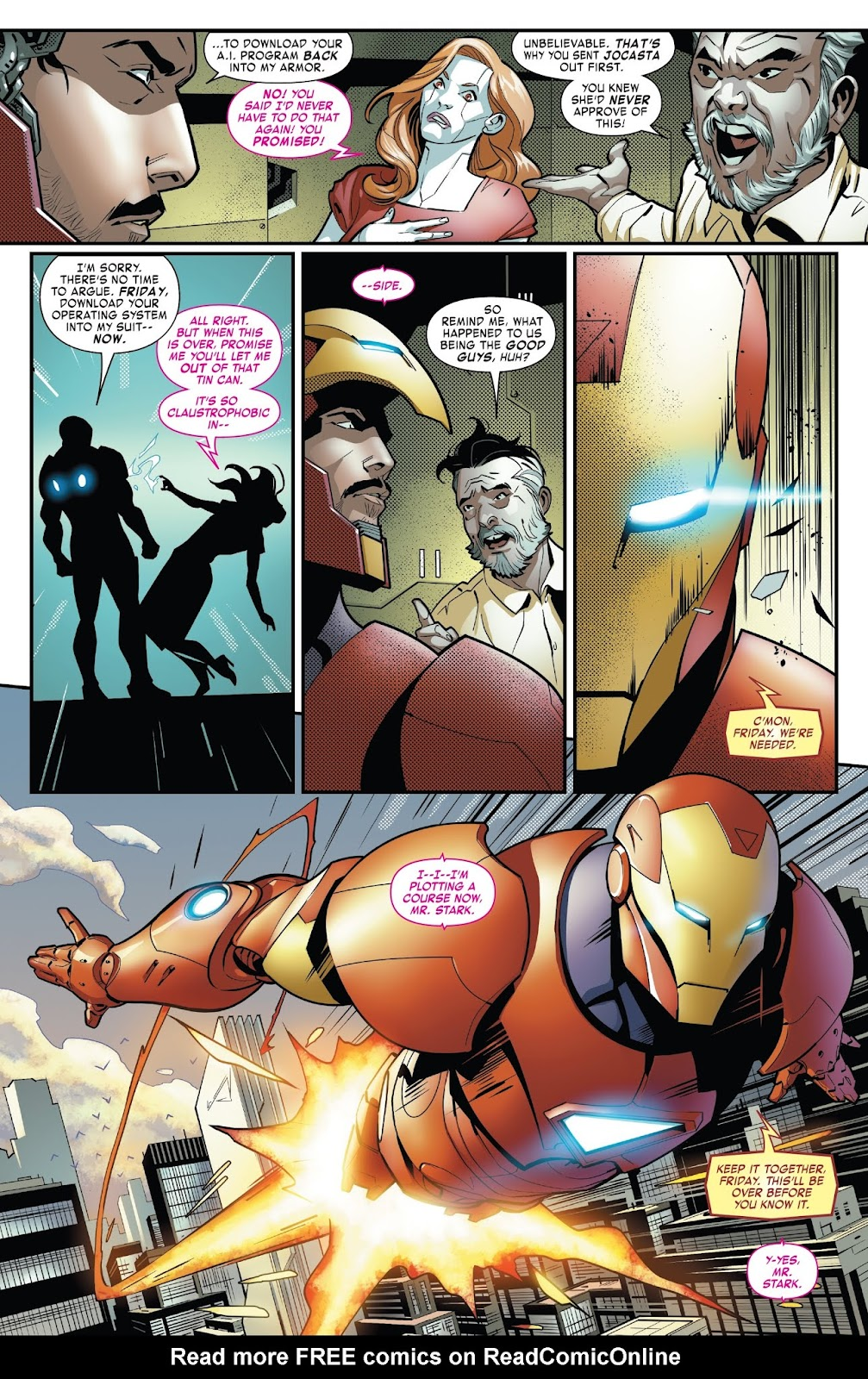 Read online Tony Stark: Iron Man comic -  Issue #7 - 16
