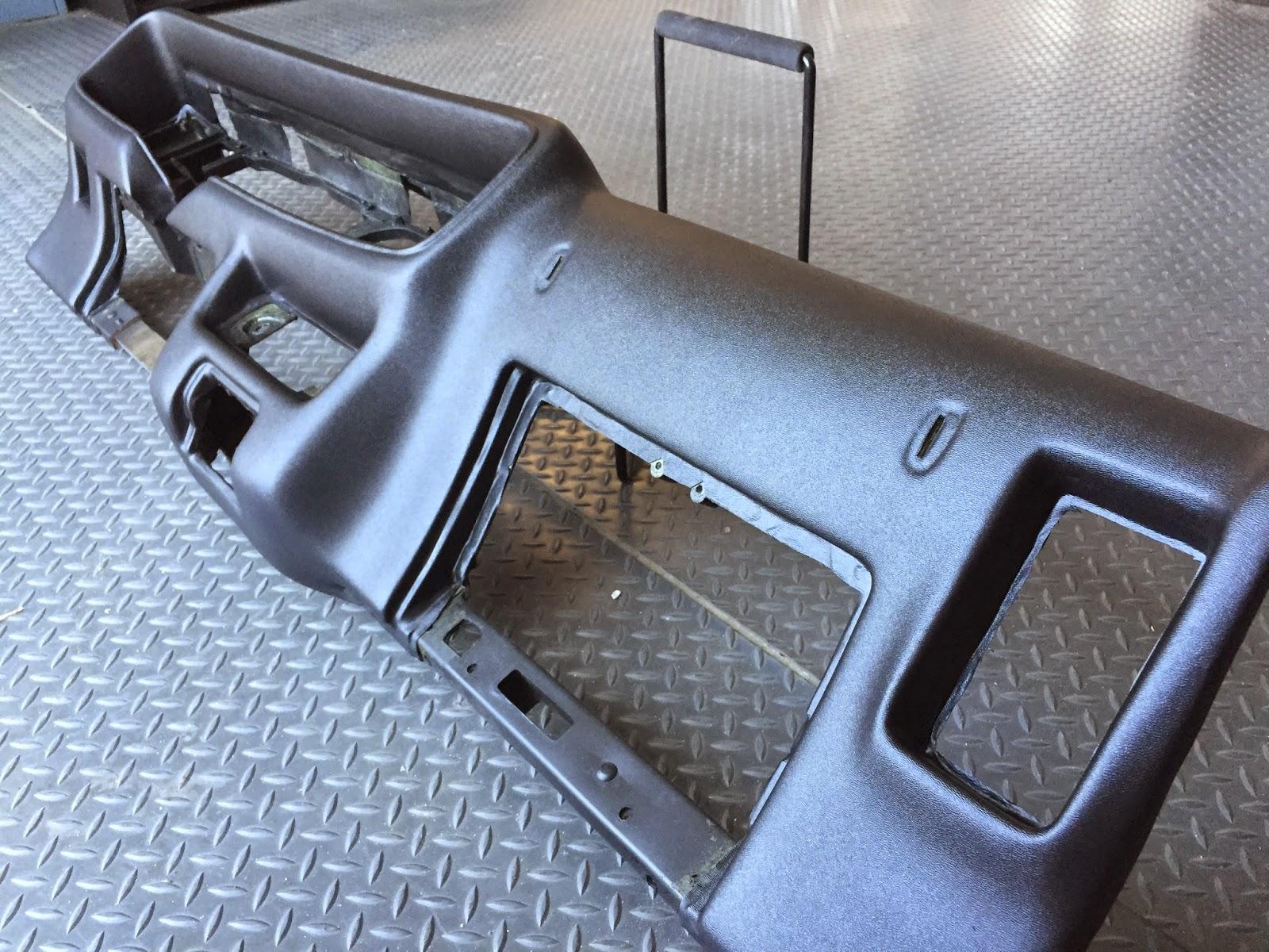 dashes production center trans  firebird dash pad restoration  plastic repair
