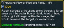 One piece marine defense 251 Robin Thousand Flower:Flowers Field detail