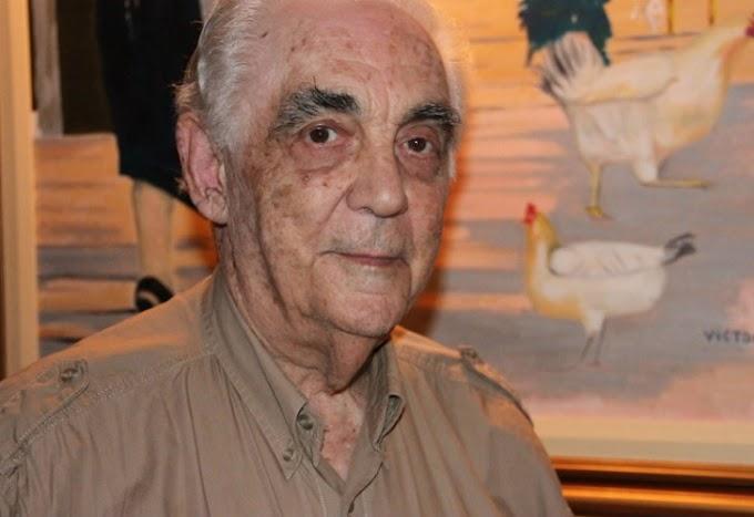 Los radicales homenajearon a Víctor Martínez