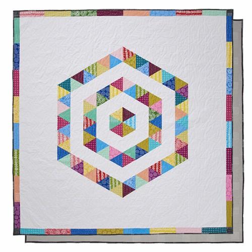 Hi Hexie Triangle Quilt - Tutorial