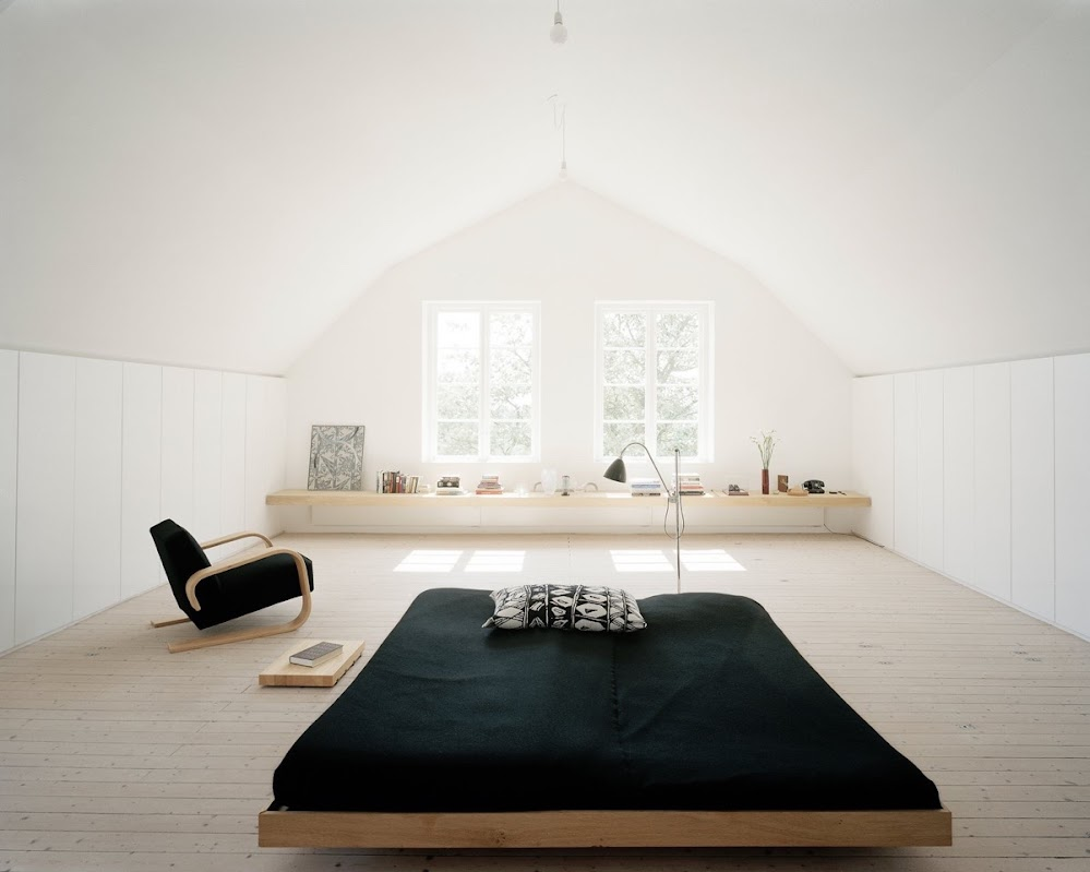 white-attic-white-windows-window-seat-black-bed