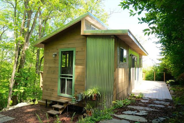 Blue Ridge Mountain tiny house