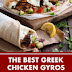 The Best Greek Chicken Gyros with Tzaziki