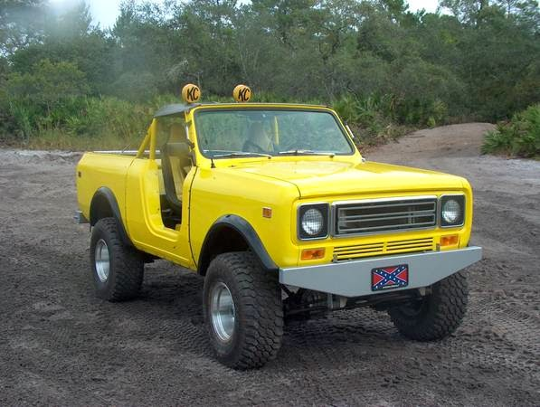 International Scout For Sale on Custom Roll Cage Scout Ii