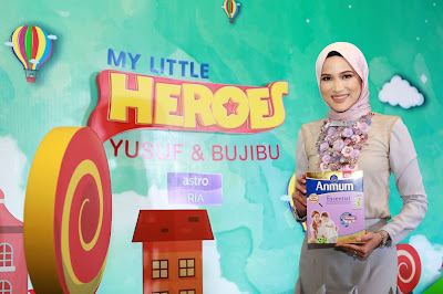 ANMUM™ ESSENTIAL INTRODUCES HANIS ZALIKHA AND SON YUSUF AS BRAND AMBASSADORS