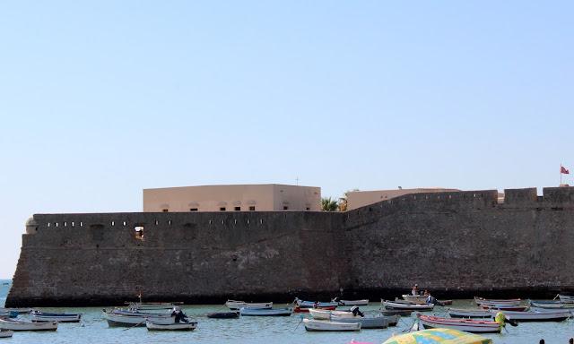 Castillo de Santa Catalina en Cádiz
