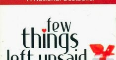Few Things Left Unsaid By Sudeep Nagarkar Epub