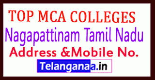 Top MCA Colleges in Nagapattinam Tamil Nadu