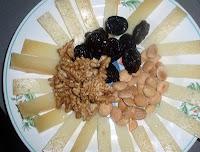queso con frutos secos