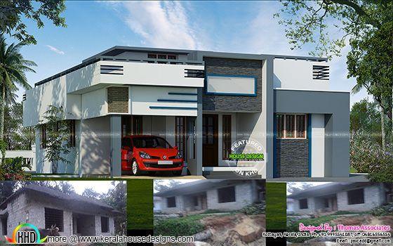 House remodel design
