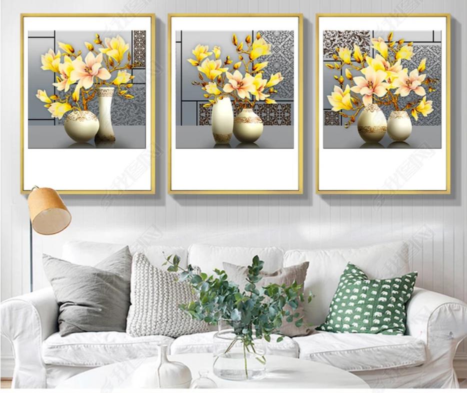 Tranh treo tường hoa phong lan