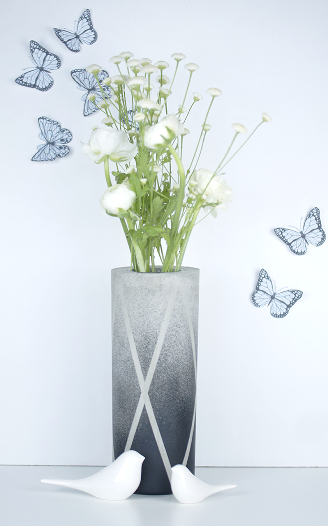 Ynas Design Blog | Ranunkeln in Betonvase | Oh, Beton!