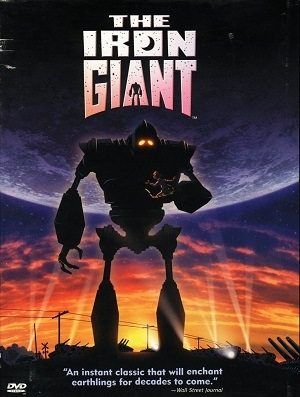 O Gigante de Ferro Blu-Ray Filmes Torrent Download capa