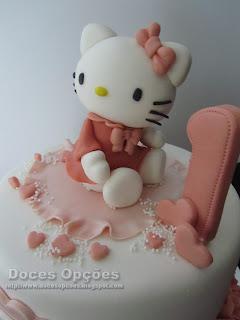 Bolo de aniversário Hello Kitty bragança