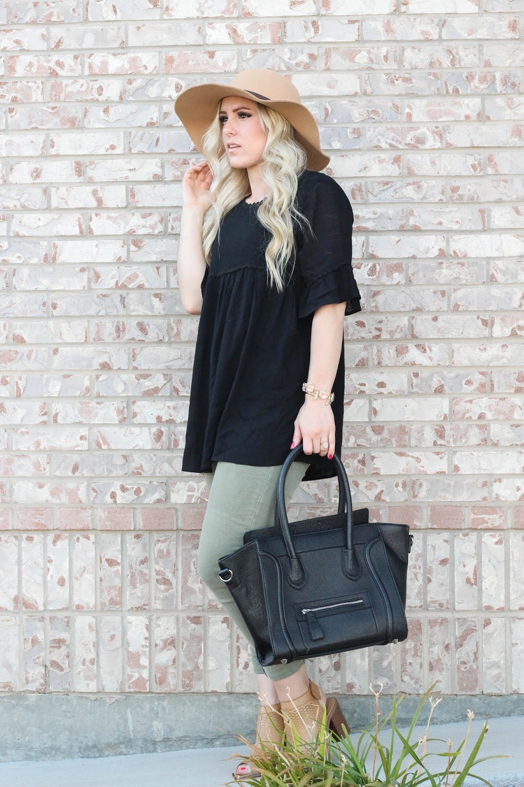 Transitioning To Fall: Favorite Black Shirt...