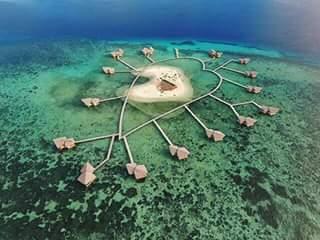 Pesona Wisata Pulau Cinta Gorontalo