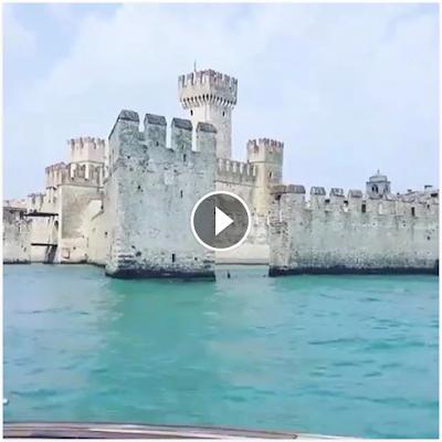 Garda Lake Castle