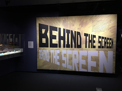 museum of moving image - behind the screen