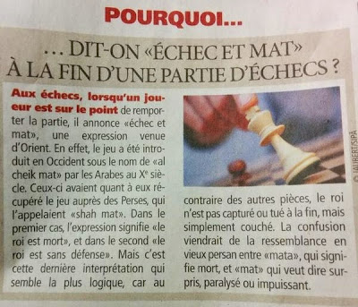 Direct matin du 6 octobre 2014 © Chess & Strategy