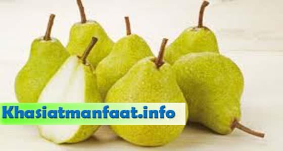 Khasiat dan Manfaat Buah Pear