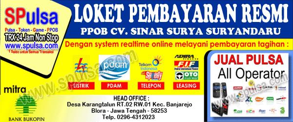 banner loket pembayaran ppob listrik pln