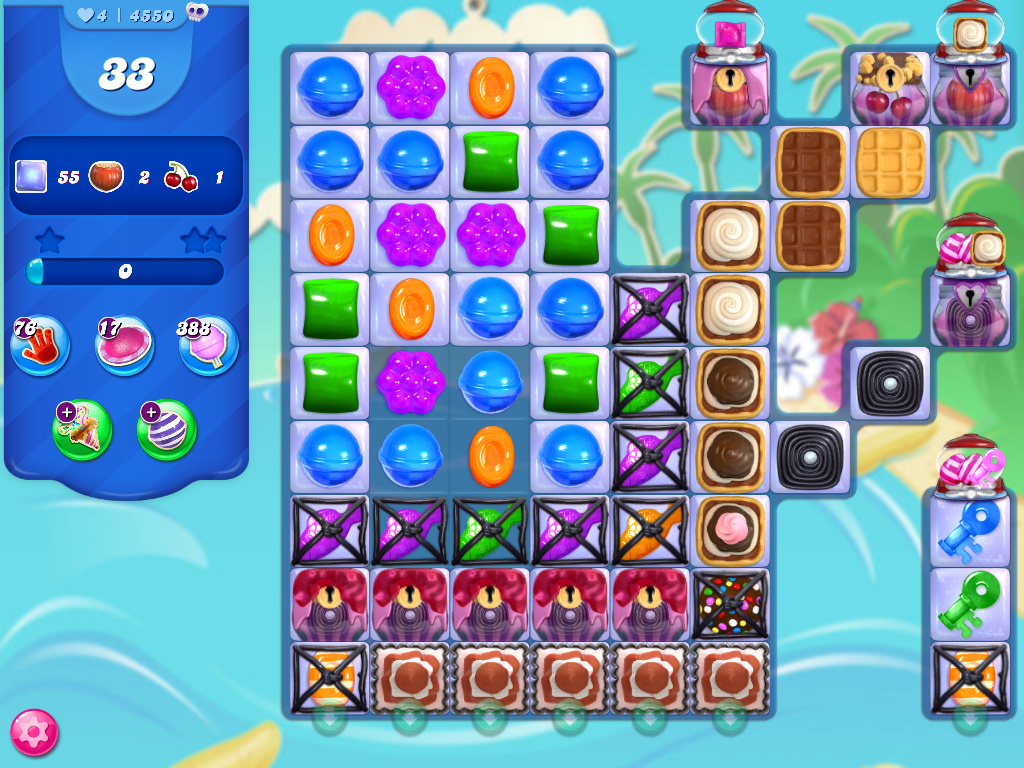 Candy Crush Saga level 4550