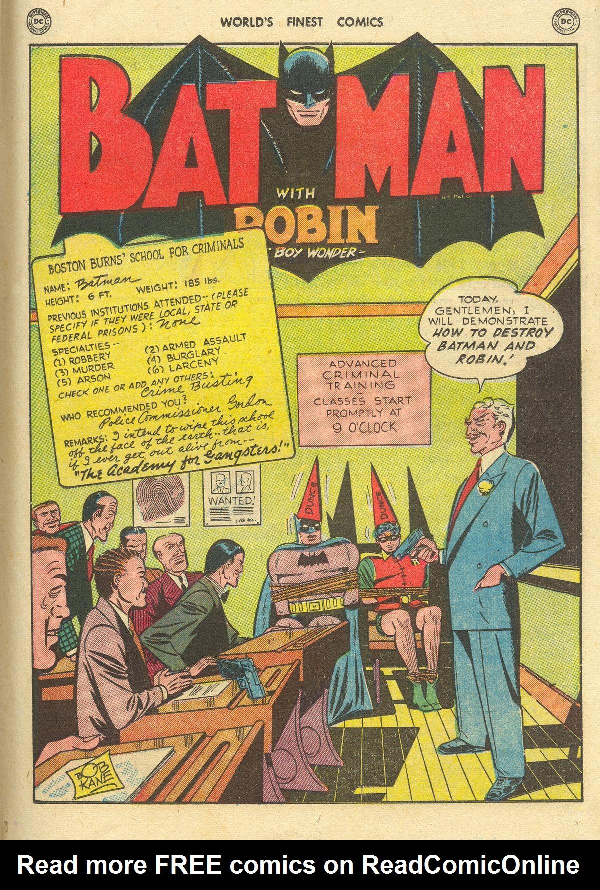 Read online World's Finest Comics comic -  Issue #51 - 63