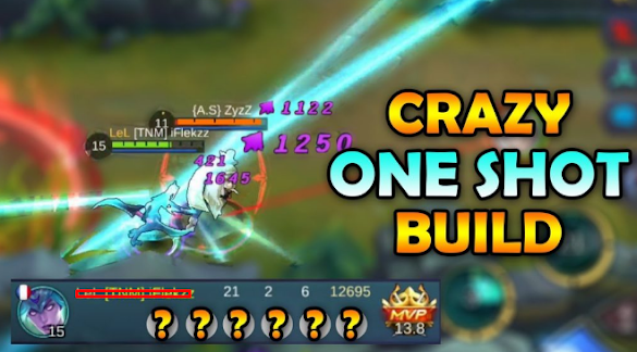 Build Karina Mobile Legends One Hit One Kill Terbaru